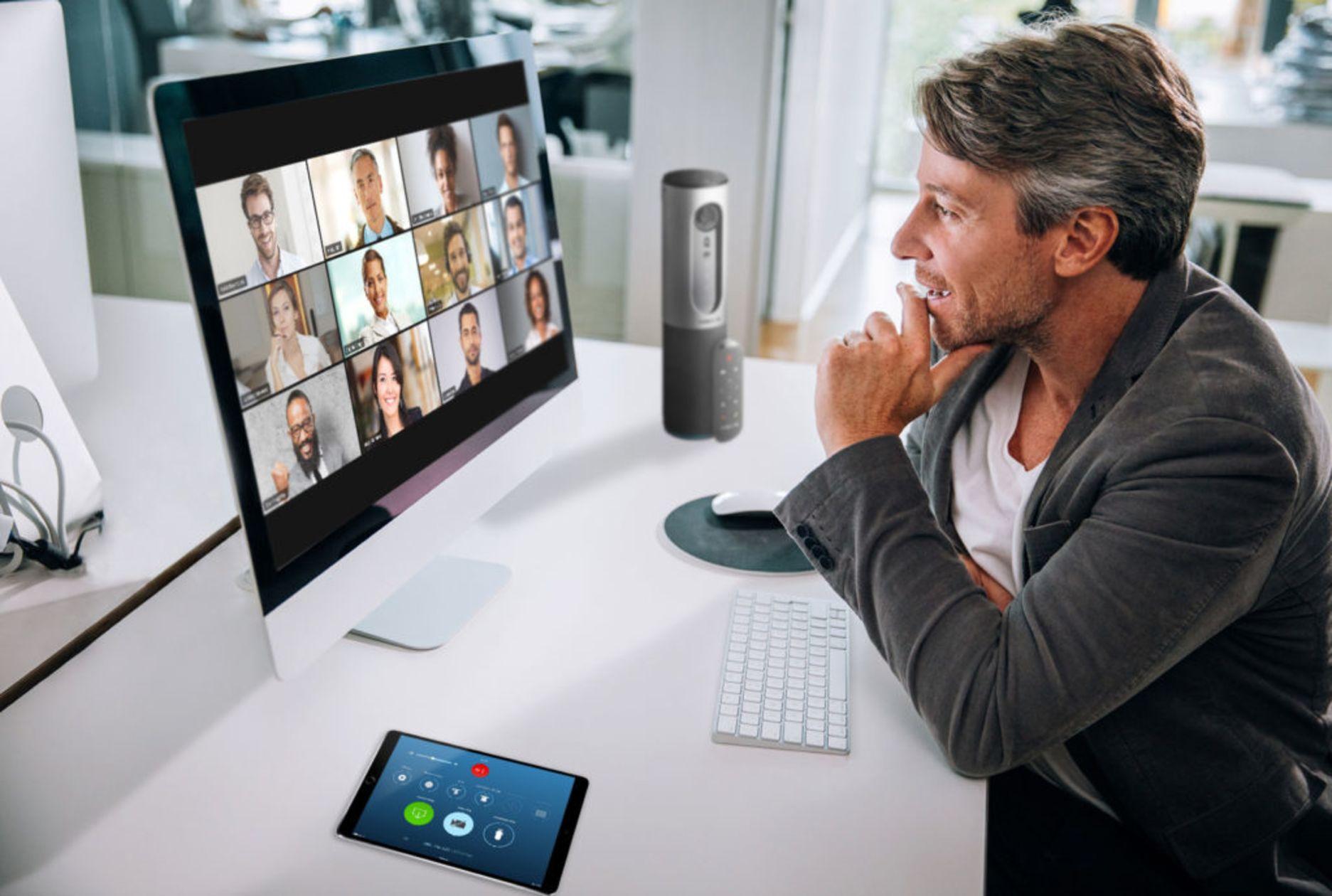 Videokonferenz mit Zoom