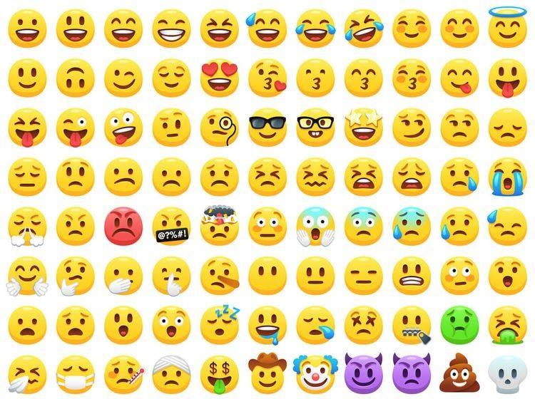 Emojis, User und Marken: Große Studie über die kleinen Pics